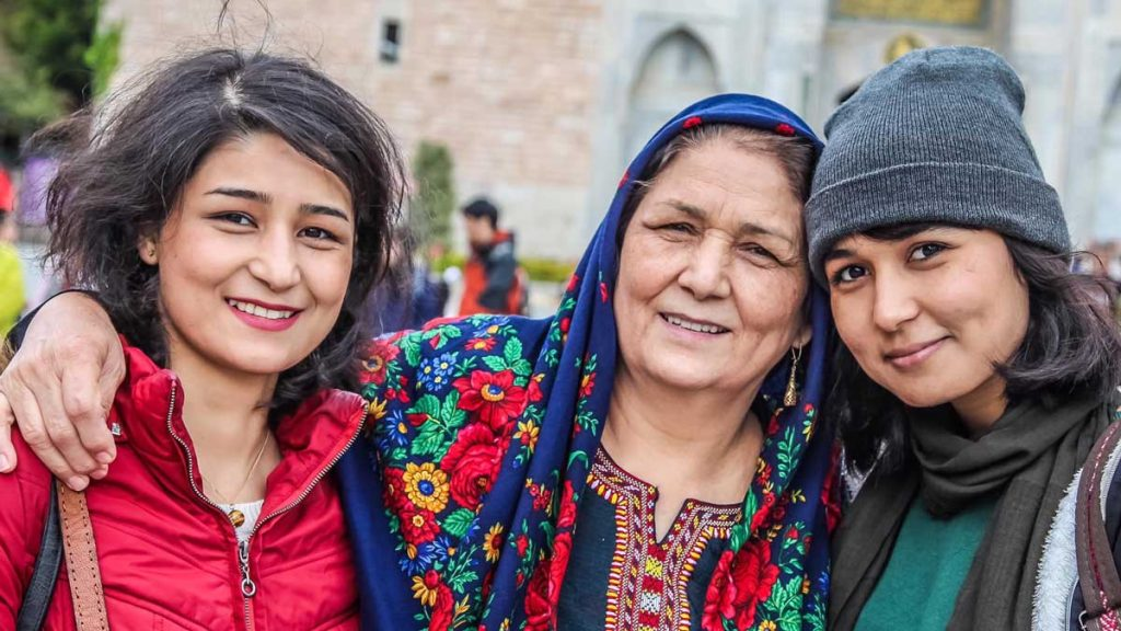 Picture of three women
